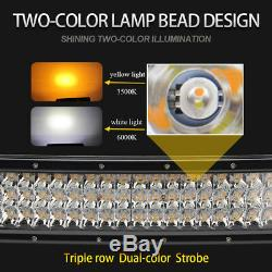 12D Curved 52inch 3915W LED Light Bar Combo for Off-road SUV Boat Jeep Truck