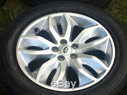 18 Genuine Freelander Evoque Discovery Sport Velar Alloy Wheels Tyres