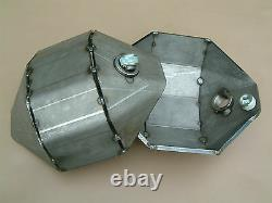 2 x Defender Discovery Range Rover Diff Pan Heavy Duty DIY 6mm Off Road On Road
