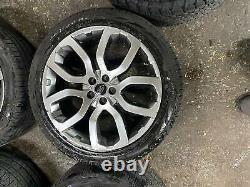 20 Genuine Range Rover Evoque Alloy Wheels And Pirelli Tyres