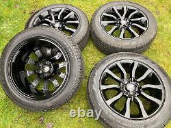 20 Genuine Range Rover Sport Vogue Discovery Alloy Wheels Pirelli Tyres