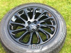 20 Genuine Range Rover Vogue Sport Discovery L495 L405 Alloy Wheels Tyres Rims