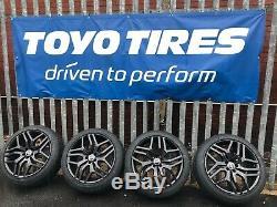 20 Range Rover Evoque / Velar / Discovery Sport Alloys & Tyres Set Of 4 Silver