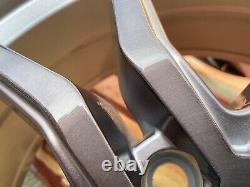 20 Vw t5 t6 Amarok sport line Alloy Wheels 850KG SPYDER TITANIUM BRUSHED