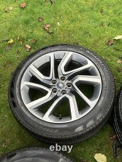 21 Range Rover Vogue Sport Discovery Alloy Wheels Pirelli Tyres Factory