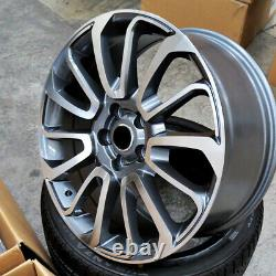 22 22x10 Autobiography Fit Wheels Land Rover Range Rover Hse Sport Discovery