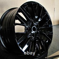 22 22x10 Svr Wheels Fit Land Rover Range Rover Hse Sport Discovery Superch