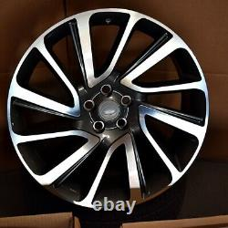 22 22x9.5 SV WHEELS FIT LAND ROVER RANGE ROVER HSE SPORT DISCOVERY SUPERCH