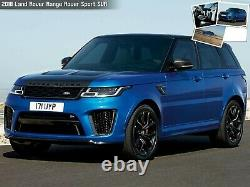 22 22x9.5 SVR WHEELS FIT LAND ROVER RANGE ROVER HSE SPORT DISCOVERY SUPERCHARGE