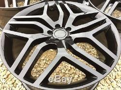 22 Alloy Wheel Style 17 508 Black Range Rover Evoque / Velar / Discovery Sport