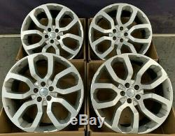 22 Genuine Range Rover Style 5004 Alloy Wheels Fits Vogue Discovery Sport