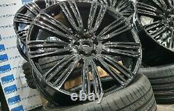 22 Inch 9007 Style Range Rover Discovery Sport New Alloy Wheels & Tyres