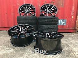 22 Mercedes AMG ALUWERKS BLACK P Style alloy wheels & tyres For Mercedes ML GL