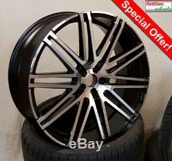 22 Mercedes Audi Bmw Vw Volvo Range Rover 300C RV120 Alloy Wheels Tyres 2853522