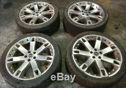 22 Overfinch Alloy Wheels Land Range Rover L322 Sport Discovery 3 285 35 22