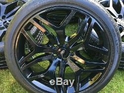 22 Range Rover Sport Vogue Autobiography Svr Alloy Wheels L494 L405 Tyres