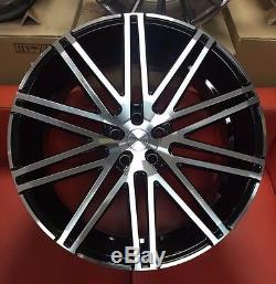 22 Riviera Rv120 Alloy Wheels Fits Range Rover Vogue Sport Discovery X5 X6