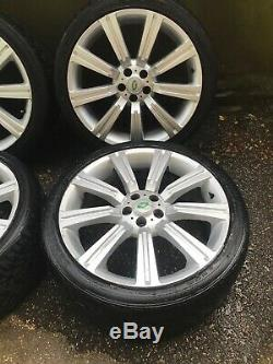 22 Stormer Alloy Wheels & Tyres x4 Range Rover Sport Land Rover Discovery 3 4