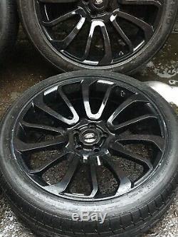 22 Turbine Range Rover Sport Vogue Discovery Svr L495 L405 Alloy Wheels Tyres