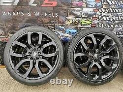 22 inch genuine range rover Vogue sport discovery wheels Pirelli tyres