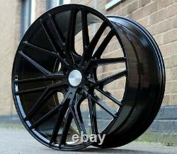 22reviera rv130 alloy wheels black gloss bmw x5/x6 range rover sport voque