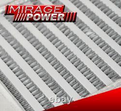 23 X11 X3 Turbo Intercooler Same Side Inlet & Outlet Mr2 Supra 7Mgte 1Jzgte