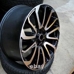 24 24x10 Autobiography Fit Wheels Land Rover Range Rover Hse Sport Discovery