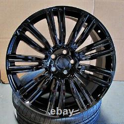 24 24x10 Dynamic Wheels Fit Land Rover Range Rover Hse Sport Discovery Superch