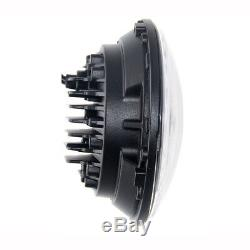 2pcs E-Mark 7 160W Hi/Lo Beam LED Headlights for Land Rover Defender RHD 90 110
