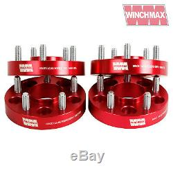 30mm Wheel Spacers Land Rover Discovery Mkii -disco 2, Range Rover P38 Red T2