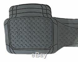 3pc Full Set Heavy Duty Rubber Floor Mats Land Rover Discovery Freelander