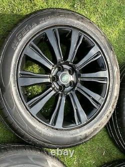 4 Genuine Autobiography Range Rover Velar Evoque Discovery Sport Alloys Wheels