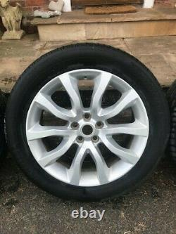 (4) Genuine Range Rover Sport 20 Alloy Wheels & Tyres, Vogue, Discovery L494