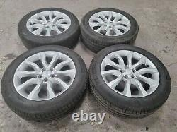 (4) Genuine Range rover sport 20 alloy wheels & tyres vogue discovery l494