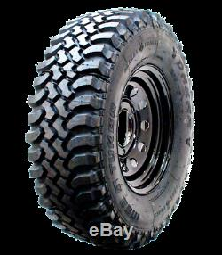 4 X Discovery 2 Wheels 245/70x16 Insa Turbo Dakar Mt Tyres On Steel Modulars