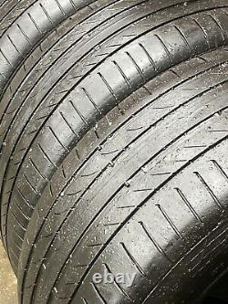 4 x 20 GENUINE RANGE ROVER SPORT VOGUE DISCOVERY ALLOY WHEELS COTI TYRES
