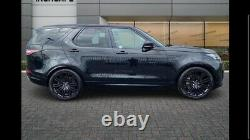 4 x 21 GENUINE RANGE ROVER SPORT VOGUE DISCOVERY L495 L405 ALLOY WHEELS TYRES