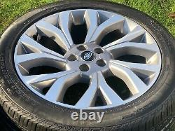 4 x 21 RANGE ROVER VOGUE AUTOBIOGRAPHY SPORT DISCOVERY TYRES ALLOY WHEELS