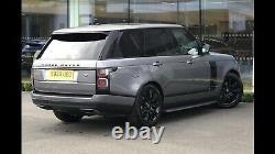 4 x 21 Range Rover Sport Vogue Discovery Defender Alloy Wheels Pirelli Tyres