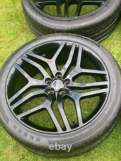 4 x 22 RANGE ROVER SPORT VOGUE DISCOVERY DEFENDER AUTOBIOGRAPHY ALLOY WHEELS