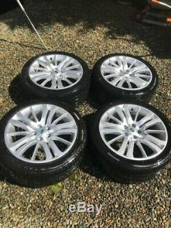 4 x GENUINE 20 INCH RANGE ROVER SPORT L320 ALLOYS AND TYRES (DISCOVERY 3/4)