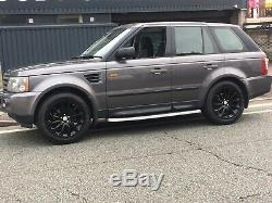 4 x GENUINE LAND ROVER DISCOVERY RANGE ROVER VOUGUE SPORT ALLOY WHEELS TYRES