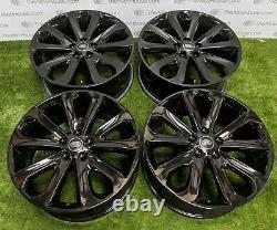 4 x Land Rover Range Rover Sport 20 inch Alloy Wheels, 5002 powdercoat
