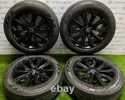 4 x Land Rover Range Rover Sport 20 inch Alloy Wheels and Tyres, 5002 powdercoat