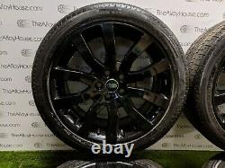 4 x Land Rover Range Rover Sport 20 inch Alloy Wheels and Tyres, L320 powdercoat