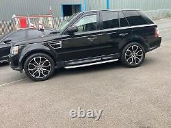 4 x RANGE ROVER SPORT VOGUE DISCOVERY DEFENDER AUTOBIOGRAPHY ALLOY WHEELS