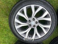 4 x RANGE ROVER SPORT VOGUE DISCOVERY DEFENDER AUTOBIOGRAPHY ALLOY WHEELS TYRES