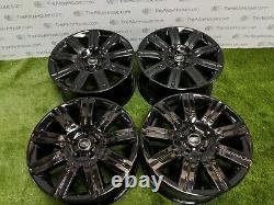 4 x Range Rover 20 inch Alloy Wheels, 9 Spoke. Refurbished, Land Rover Sport