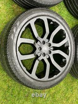 4x 22 Land Rover Range Rover Sport Vogue Discovery VW Transporter Alloy Wheels