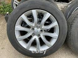 4x Genuine Range Rover Sport 20 alloy wheels & tyres vogue discovery VW T5 T6